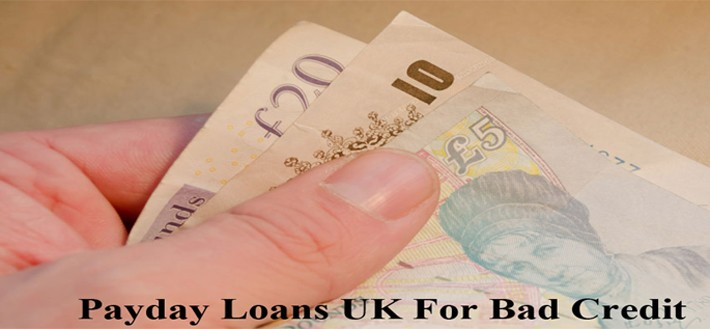 payday loans in UK for bad credit