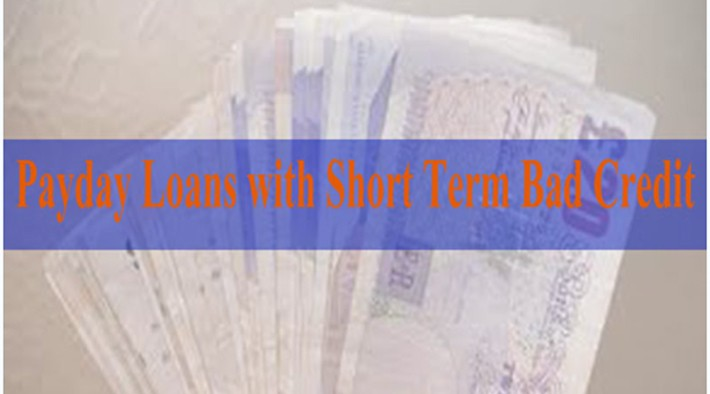 payday loans with short term n bad credit