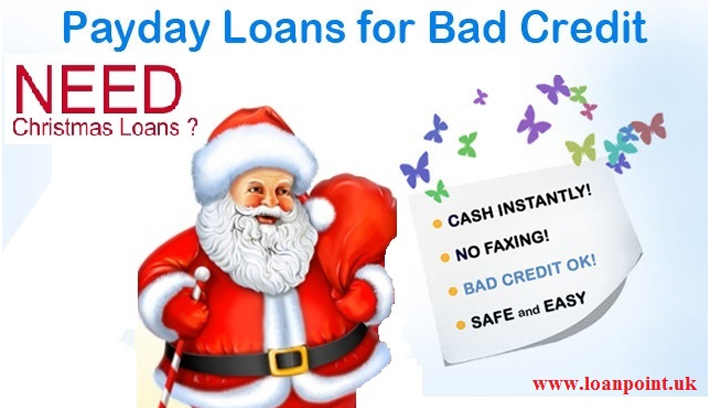 Christmas Payday Loans UK For Bad Credit