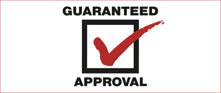 guaranteed approval