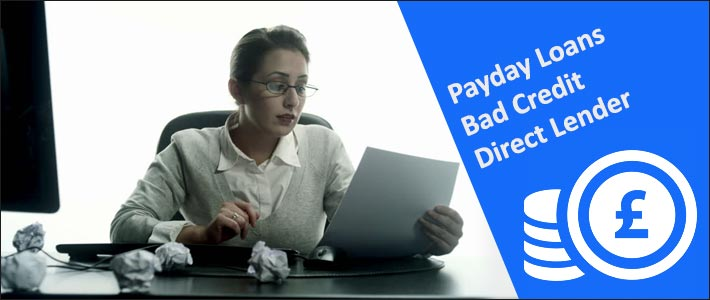 Payday loans bad credit direct lender
